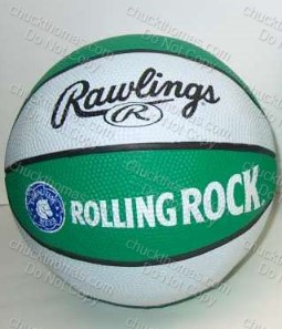 Rolling Rock Mini Basketball