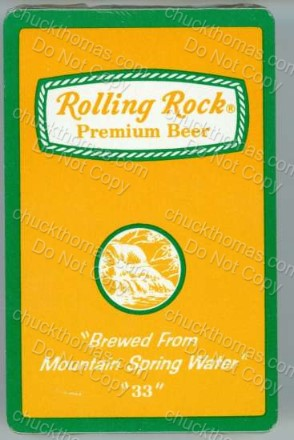 Rolling Rock Playing Card Deck