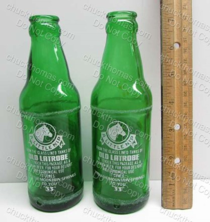 "Rolling Rock ""Hand Grenade"" Pony Bottle"