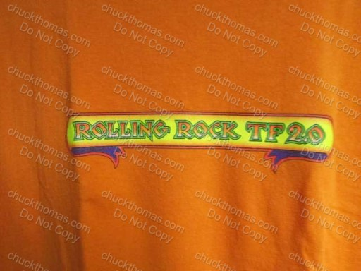 Orange Town Fair Tee Shirt - Rolling Rock