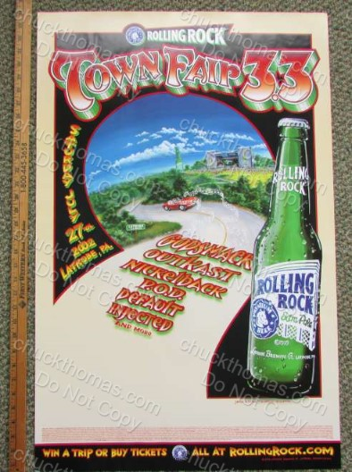 Rolling Rock Town Fair 3.3 Poster
