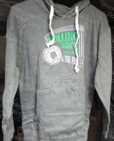 Rolling Rock Beer Pouch Hoodie